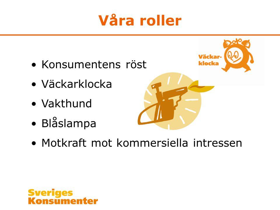 Kontakt Sveriges Konsumenter Box 38001 100 64 Stockholm Telefon 08-674 43 00 www.sverigeskonsumenter.se www.radron.se