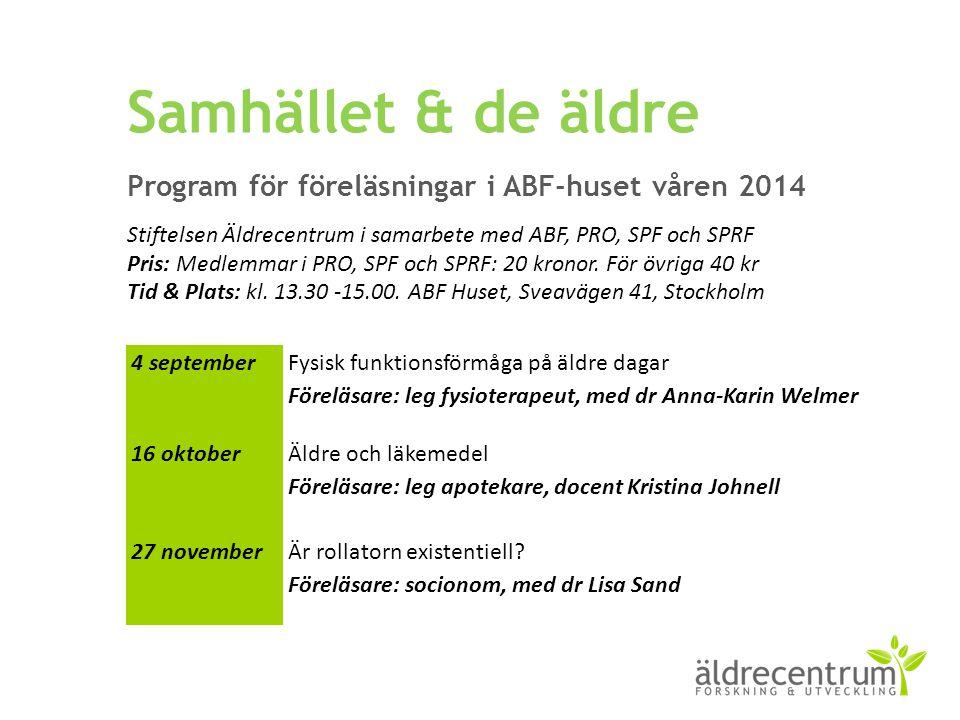 Andel personer (65+) som använt RUT-avdrag, fördelat på riket, Stockholms län och Nacka åren 2007-2012 (SCB 2014