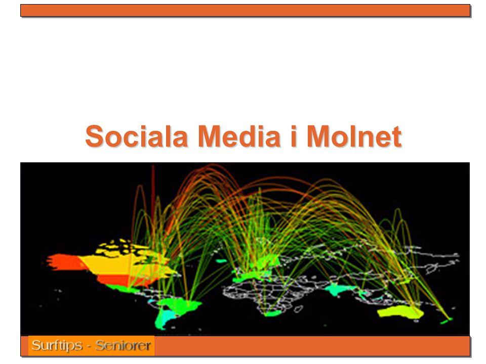 Sociala Media i Molnet