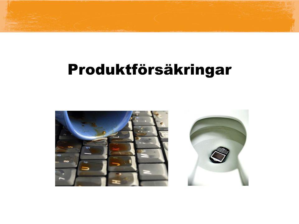 Produktförsäkringar