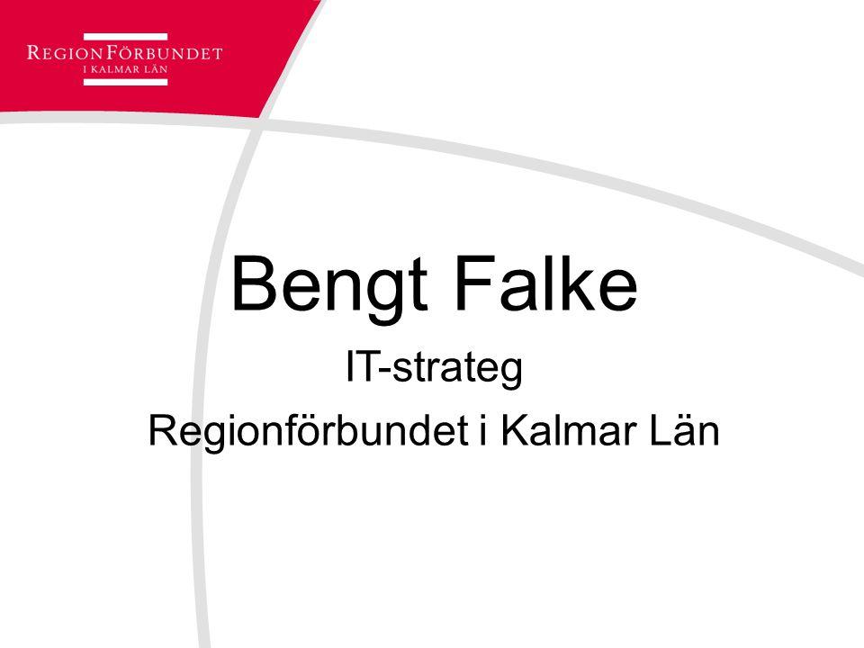 Bengt Falke IT-strateg Regionförbundet i Kalmar Län