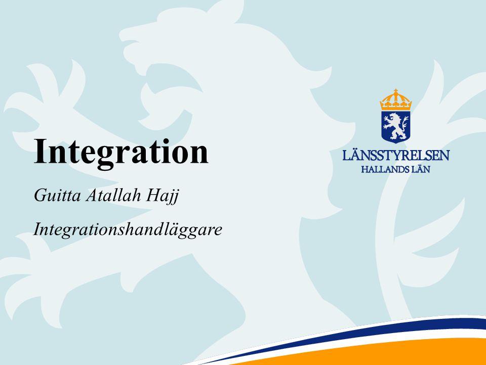 1 Integration Guitta Atallah Hajj Integrationshandläggare