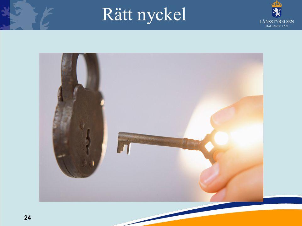 24 Rätt nyckel