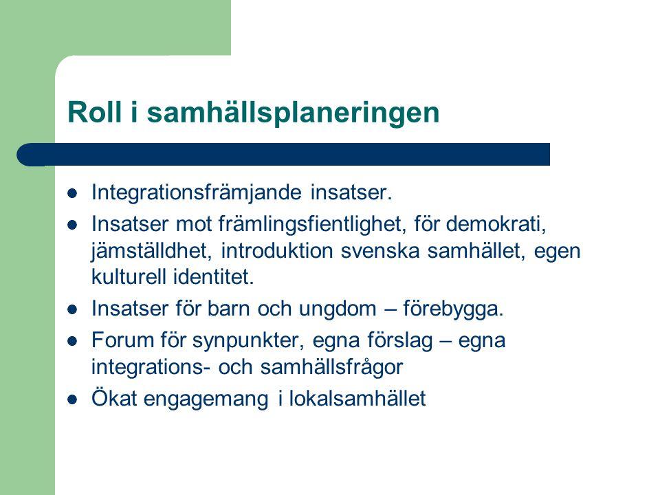 Integrationsfrämjande insatser.