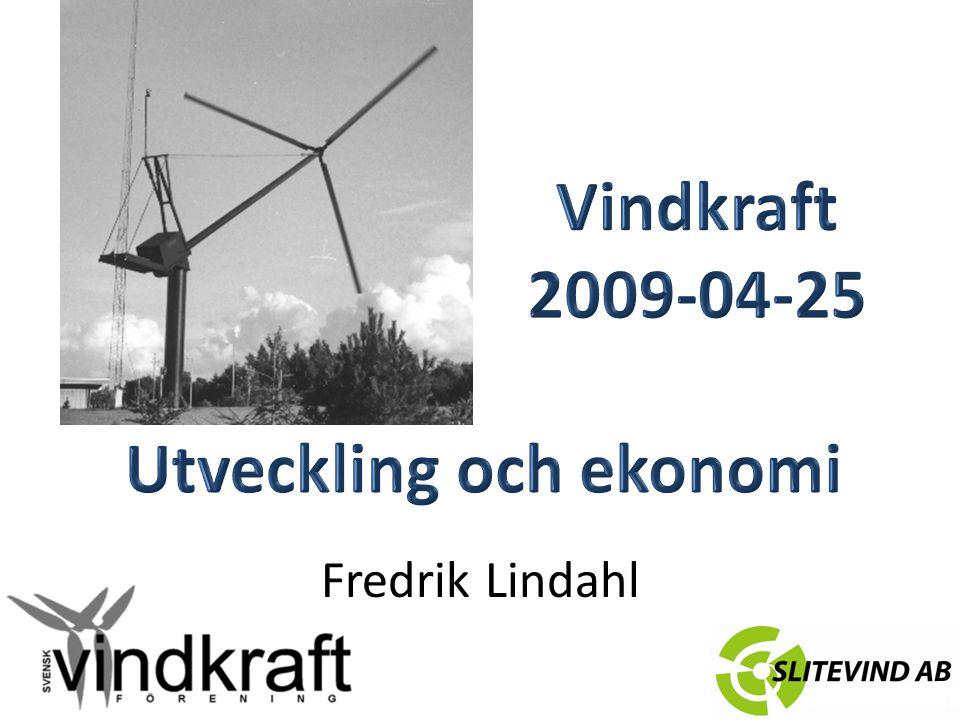 Vindkraftens utveckling