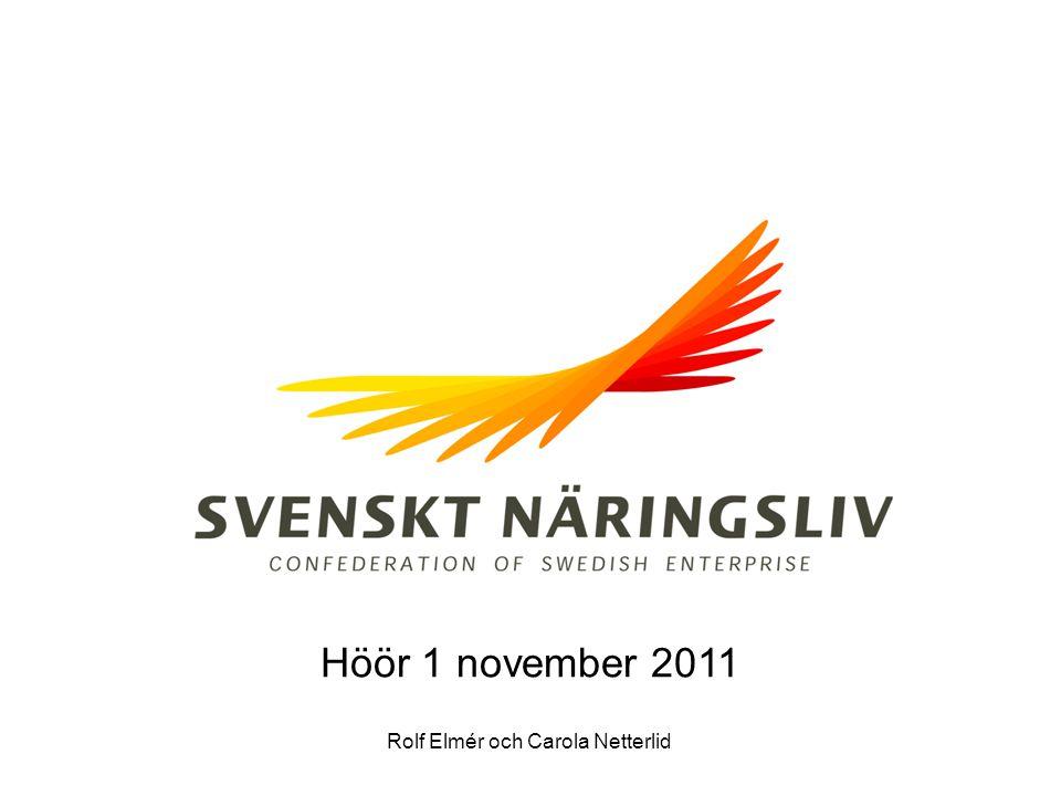 Rolf Elmér och Carola Netterlid Höör 1 november 2011