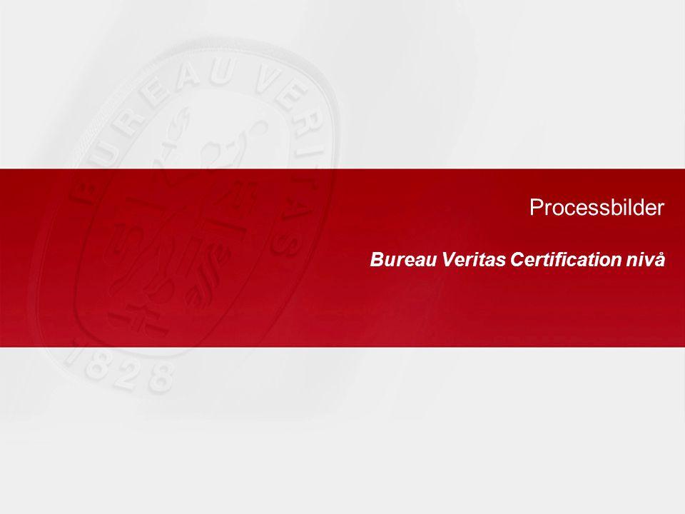 Processbilder Bureau Veritas Certification nivå