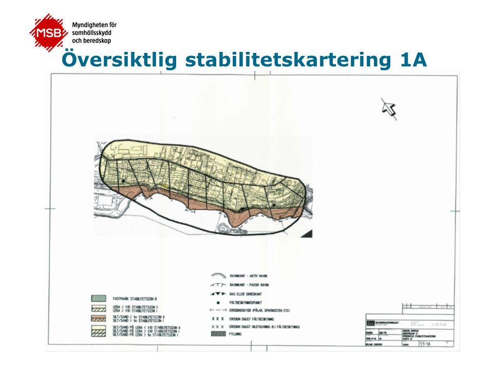 Översiktlig stabilitetskartering 1A