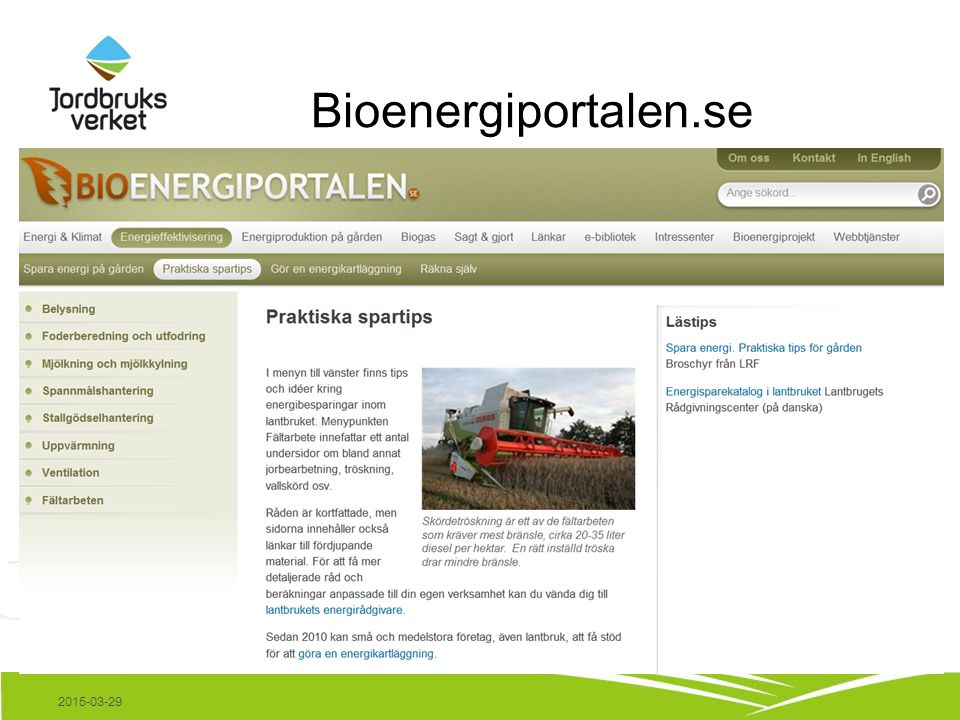 Bioenergiportalen.se 2015-03-29