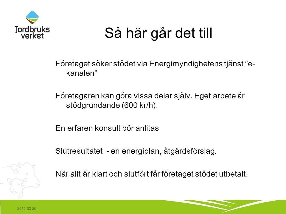 Räkneexempel 2015-03-29 Källa: Lars Neuman
