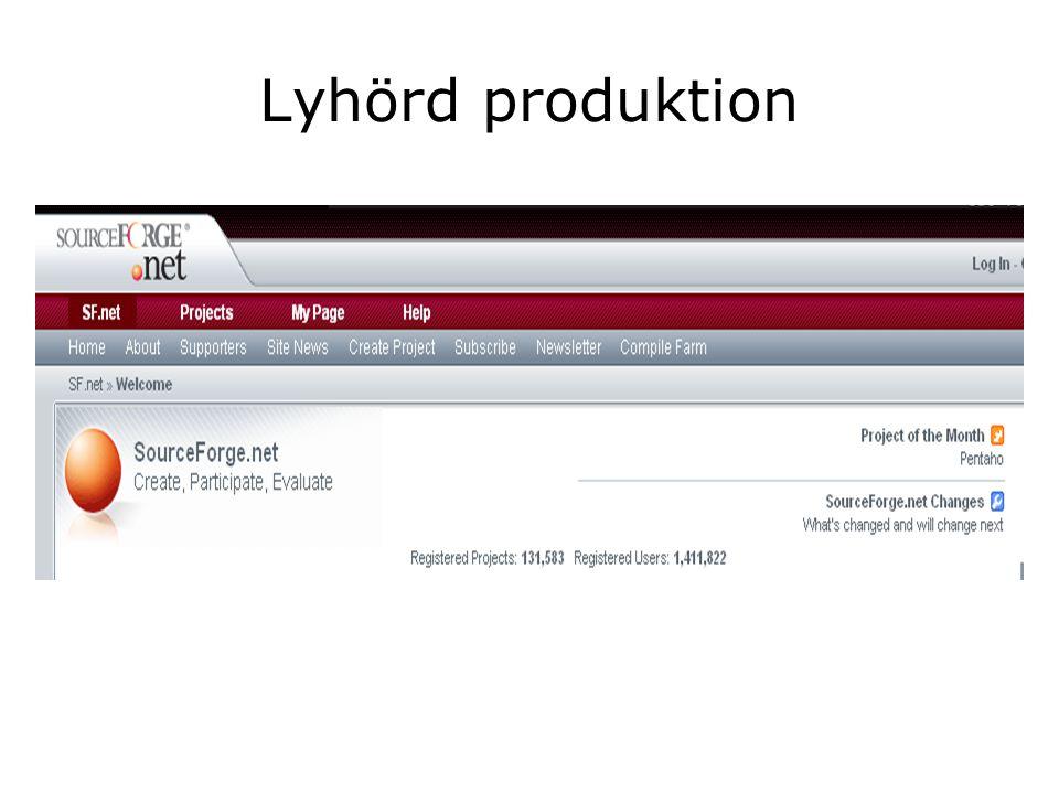 Lyhörd produktion