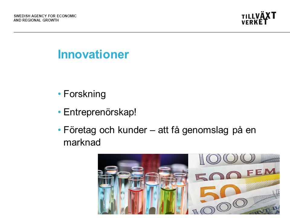 SWEDISH AGENCY FOR ECONOMIC AND REGIONAL GROWTH Offentliga aktörer Skapa förutsättningar Skapa incitament Agera samordnande 4