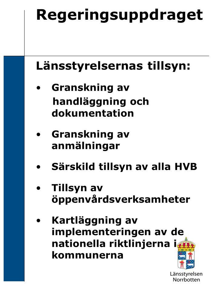 200X-XX-XX Sven Svensson Regeringsuppdraget 2 Obligatoriskt i alla uppdrag -Hur uppmärksammas barns och anhörigas/ närståendes situation.