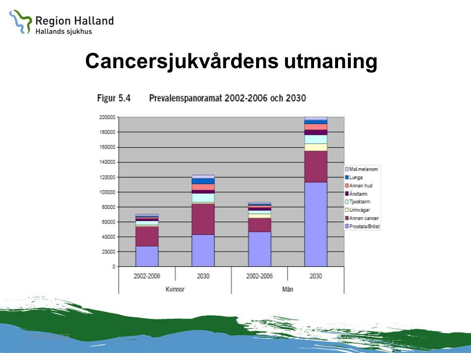 2010-04-22 Cancersjukvårdens utmaning