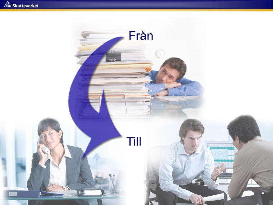 Presseminarium 2011- 02-23 48 Från Till