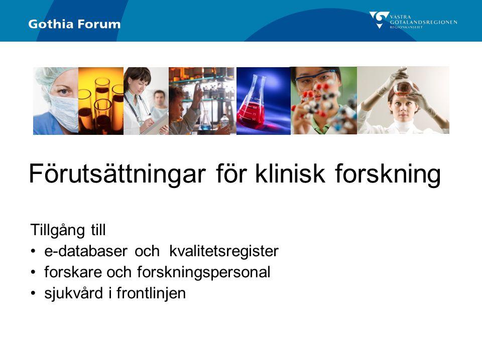 Generell titel Varför samarbete med industrin.