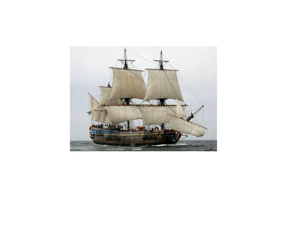 Handel med kolonier Handeln växte i omfattning.