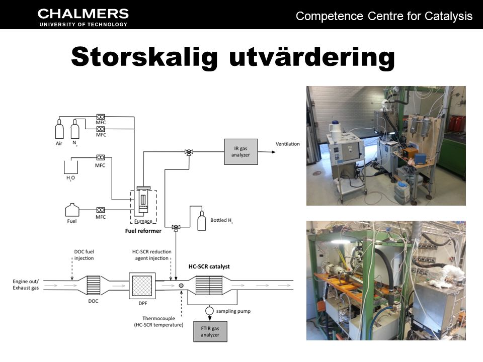 Storskalig utvärdering Competence Centre for Catalysis