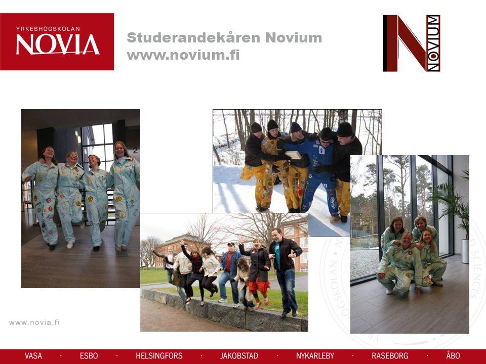 Studerandekåren Novium www.novium.fi