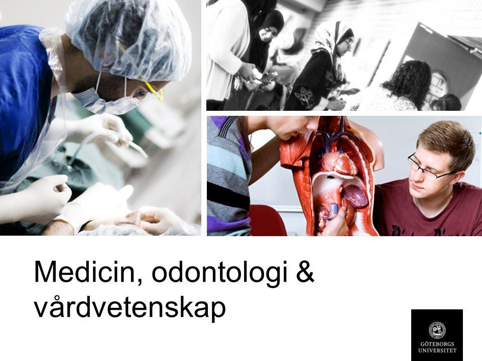 Medicin, odontologi & vårdvetenskap