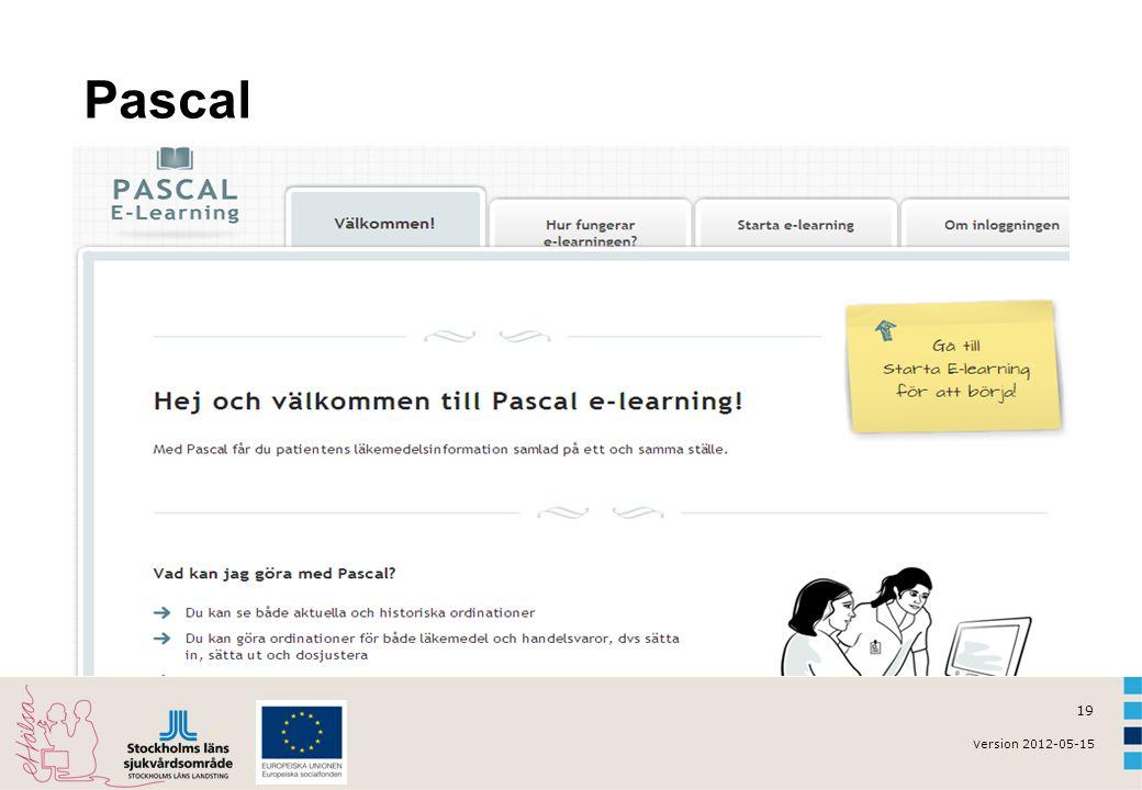 v ersion 2012-05-15 19 Pascal