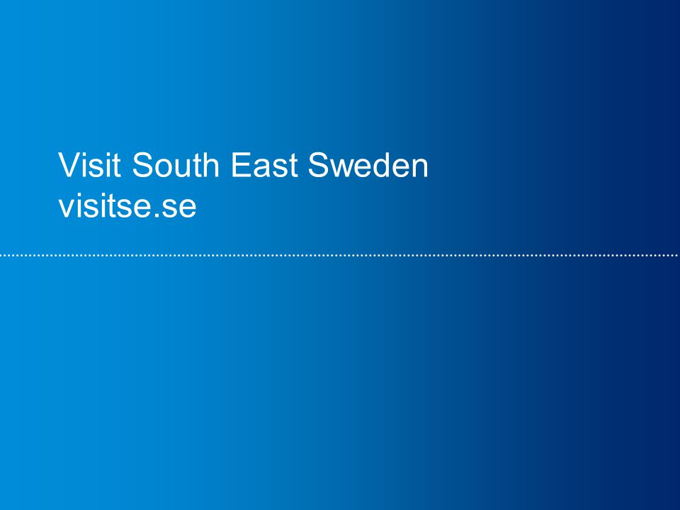 Visit South East Sweden visitse.se