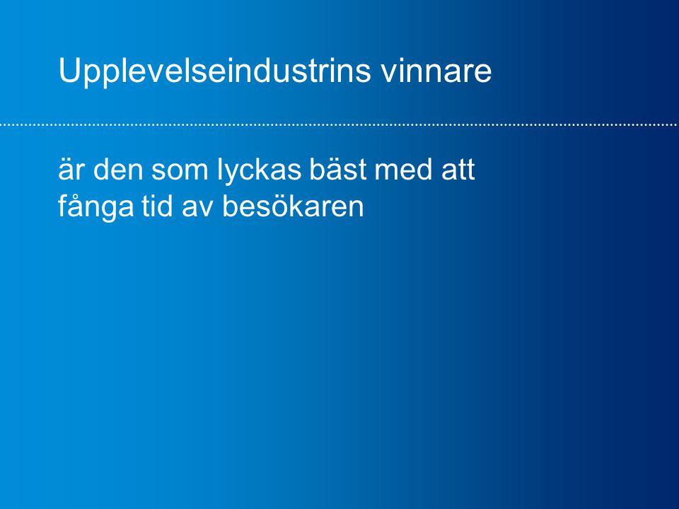 Lyckat exempel - Swedish Lapland Allianser/partnerskap LFV Visit Sweden Regionala turistrådet Swedish Lapland Nutek