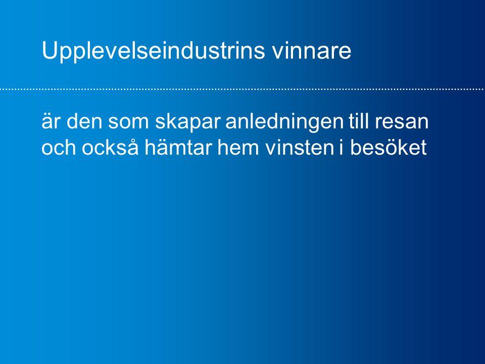 Glasriket/Kalmar/Öland + Upplevelseplaneraren™ = egen själ mot nationell marknad