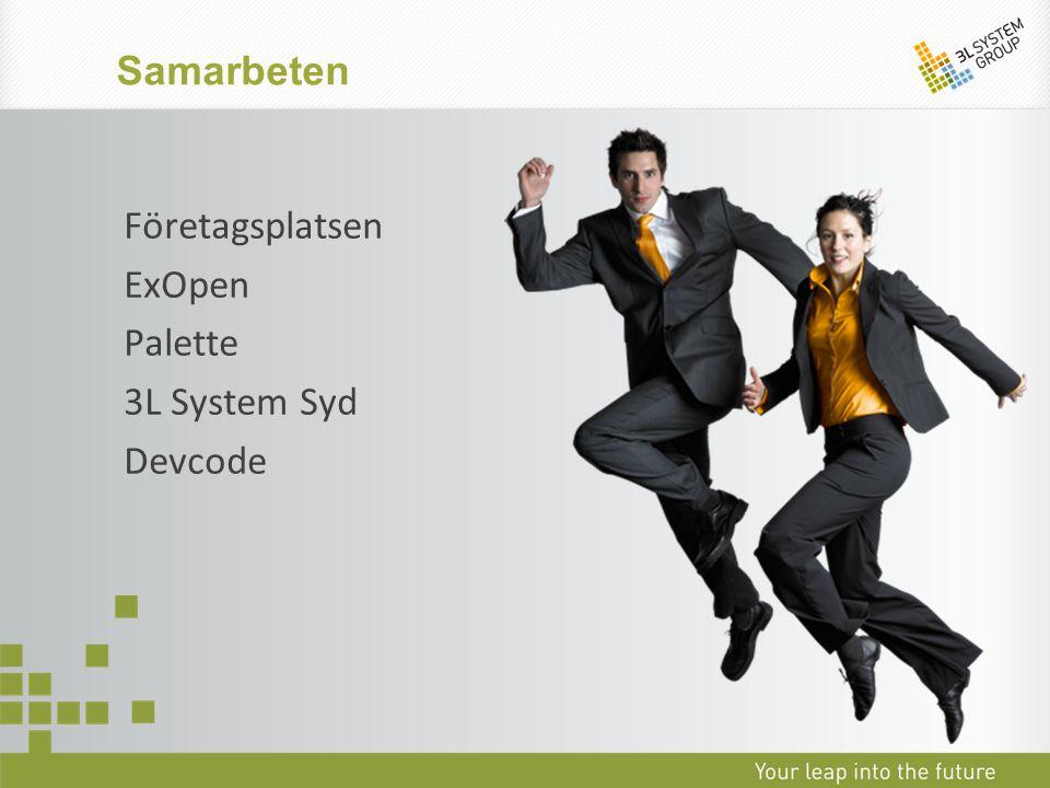 Företagsplatsen ExOpen Palette 3L System Syd Devcode Samarbeten