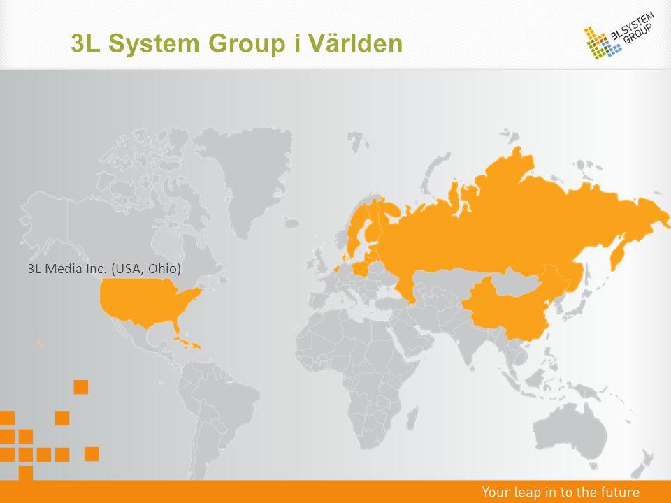 3L System Group - Marknadsandelar Entreprenads- & Fastighetsbolag Förvaltande bolag & Redovisningsbyråer
