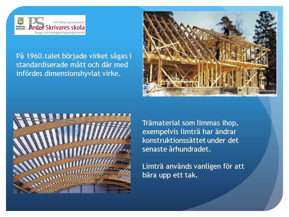 På 1990.talet ändrades byggnormerna Så att trä kunde använda i byggnader Högre än två (2) våningar.