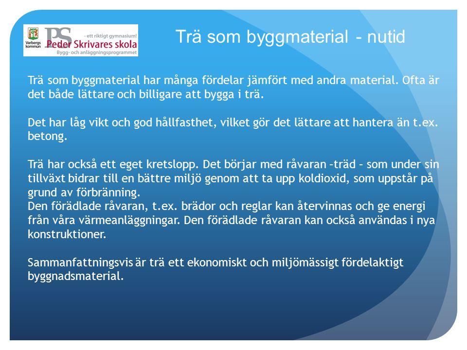 Från skog till virke Sverige är rikt på skogar.