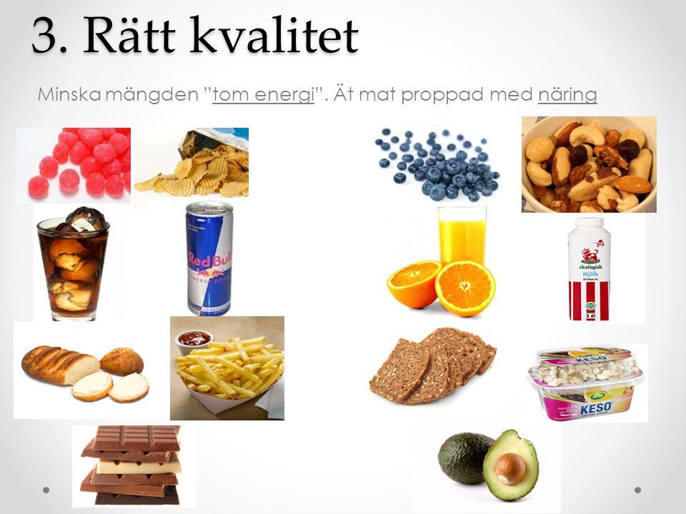 Livsmedelsverket: 500 gram frukt, bär & grönt per dag!