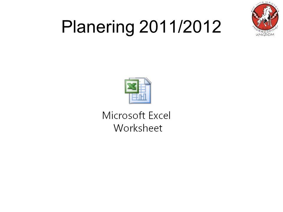 Planering 2011/2012