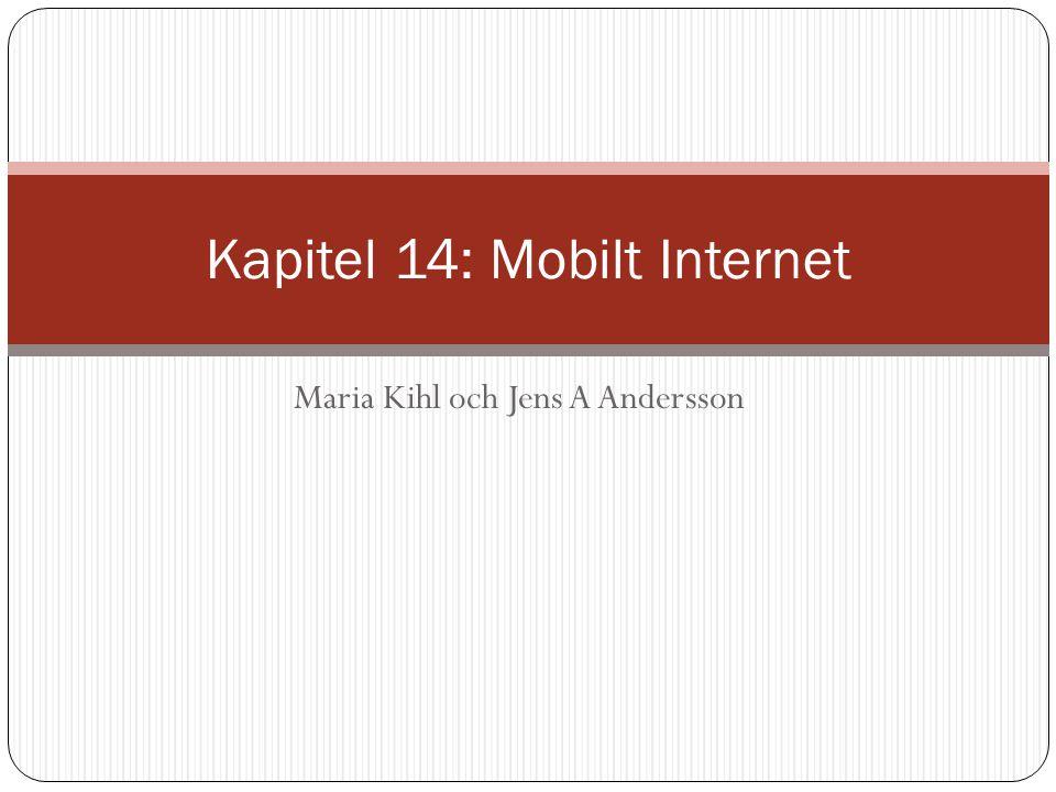 Figur 14.1: Grundläggande termer för Mobile IP Korrespondent Home network 180.35.20.0 Permanent adress: 180.35.20.10 Home agent Internet Foreign agent Visited network 150.10.0.0 Care-of adress: 150.10.0.5 Mobil station