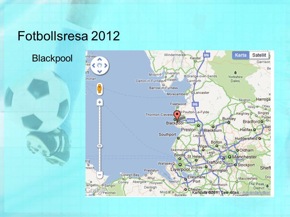 Fotbollsresa 2012 Blackpool