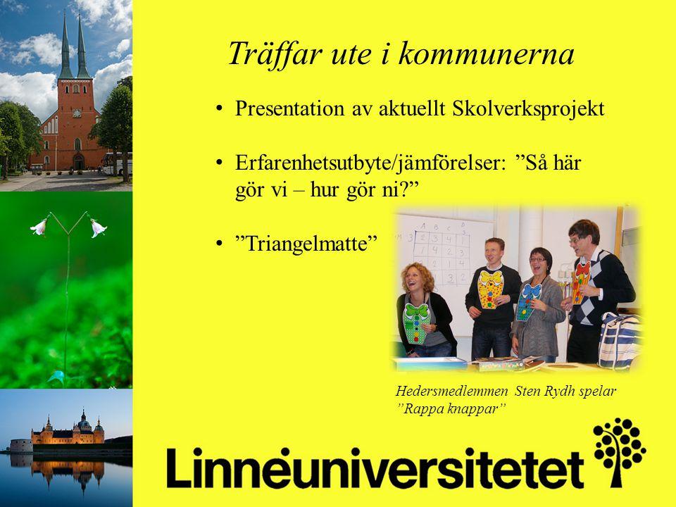 Matematikutveckling i Olofströms kommun 2003-2012 Mikael Gustafsson & Camilla Stridh Träffar ute i kommunerna Presentation av aktuellt Skolverksprojek