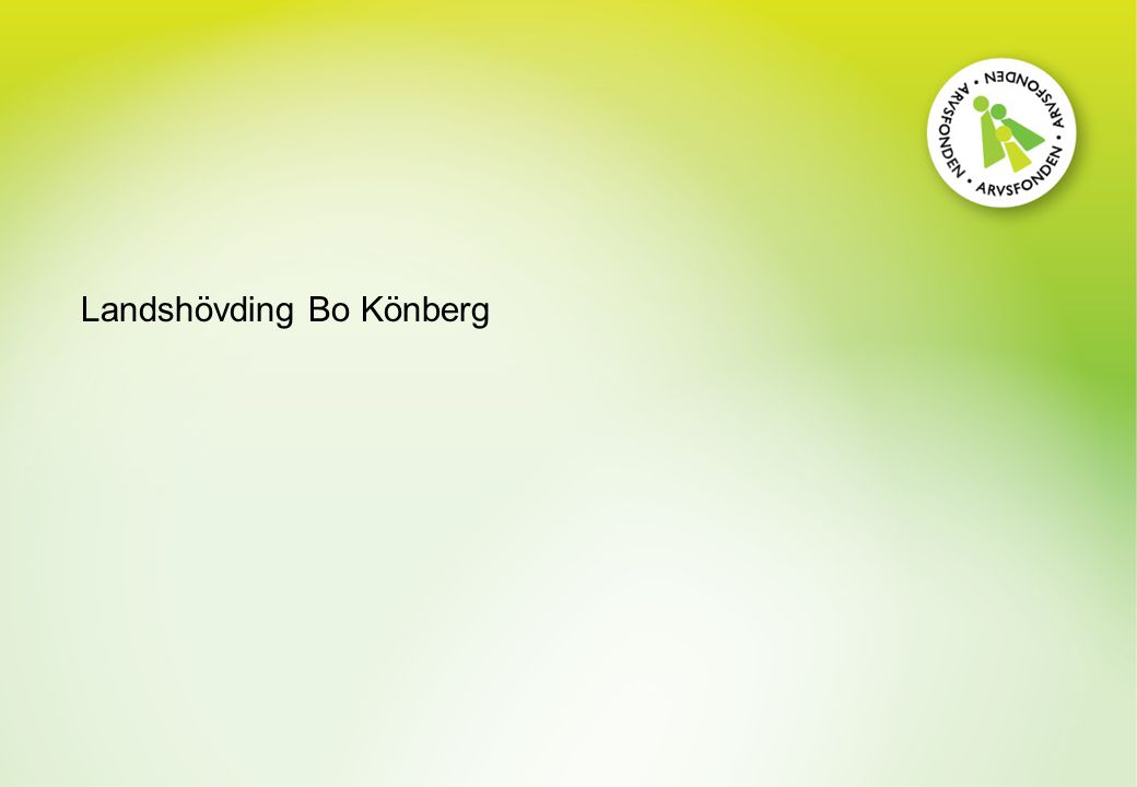 Landshövding Bo Könberg