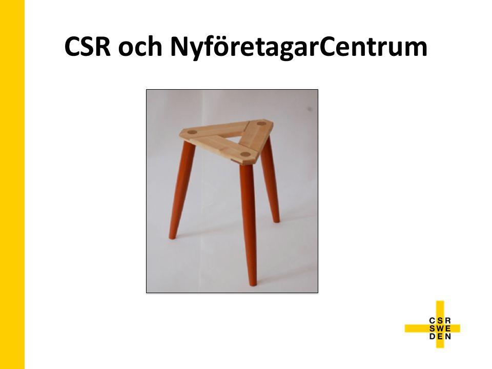 CSR och NyföretagarCentrum