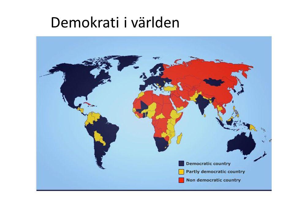 Riksdagen beslutar vilket/vilka partier som ska få bilda regering.