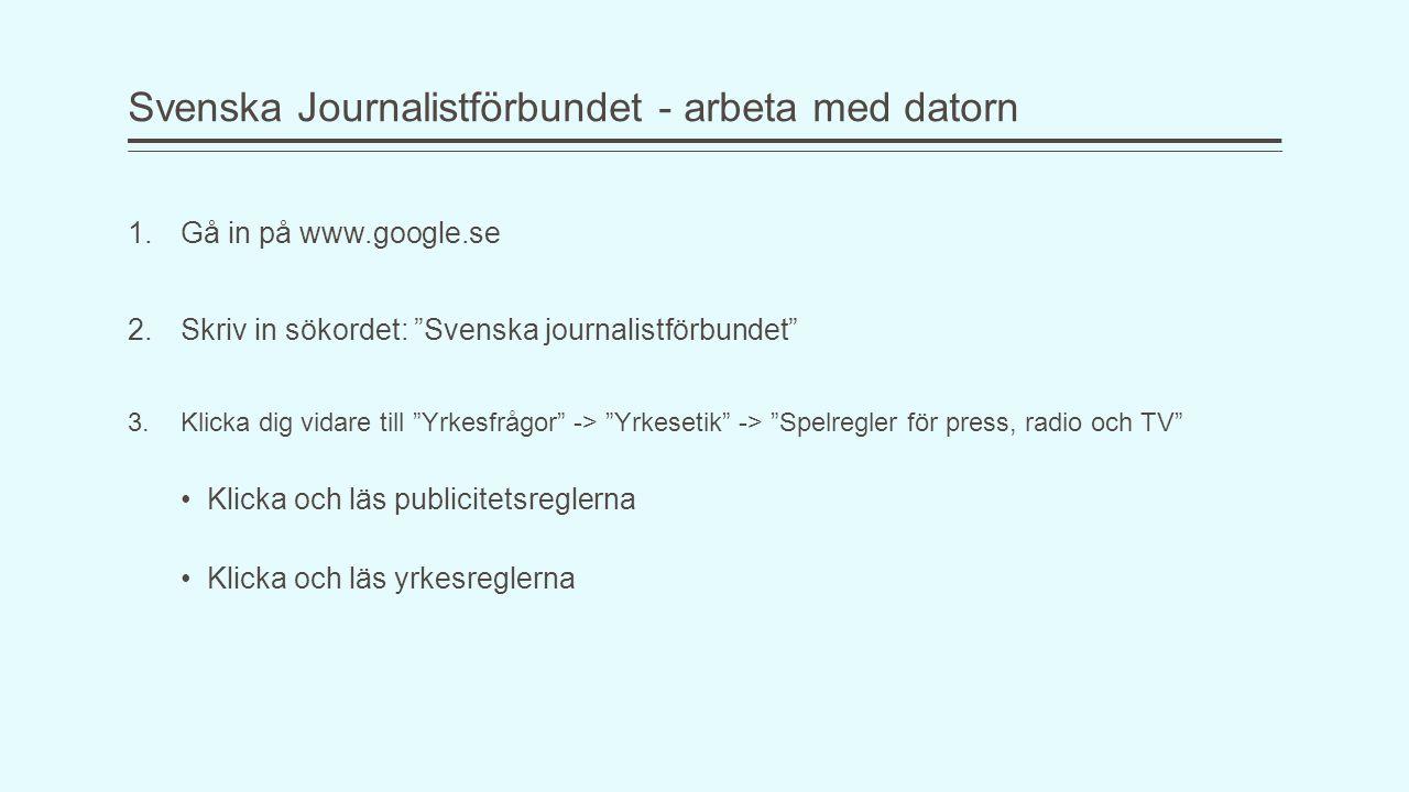 24-man mördad i Linköping kvällen den 3:e mars Uppgift: Journalisternas förhållande till publicitetsreglerna är relativt tydliga om man jämför innehållet i tidningar, som exempelvis Corren eller Aftonbladet, och jämför det med Internetforum som Flashback där användarna inte tillämpar de pressetiska reglerna.