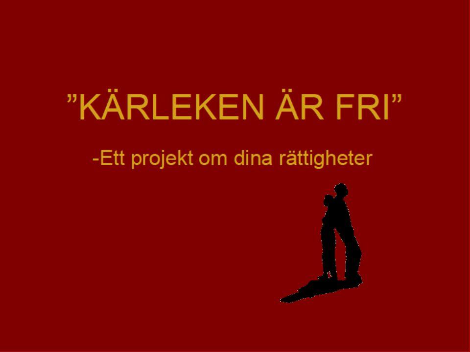 Dina rättigheter Du har rättigheter som ung i Sverige.