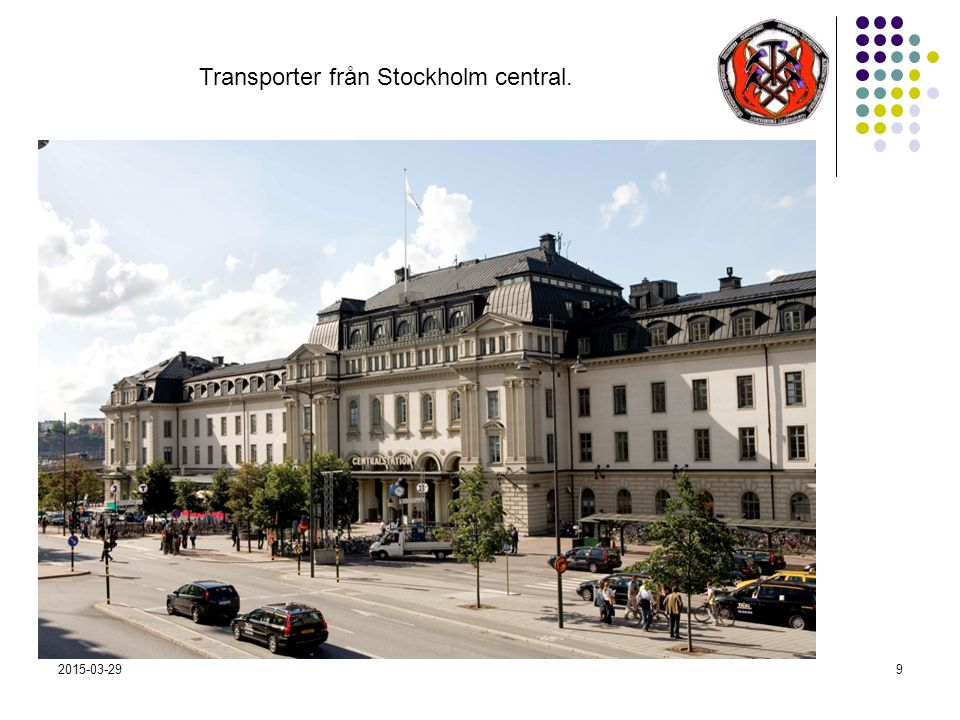 2015-03-299 Transporter från Stockholm central.