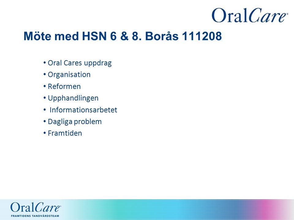 Möte med HSN 6 & 8.