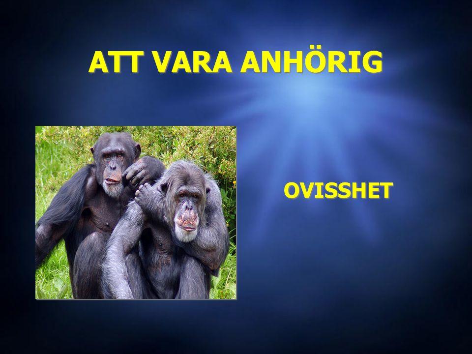 ATT VARA ANHÖRIG OVISSHET