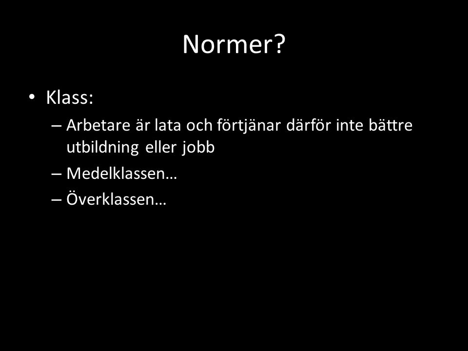 Normer.