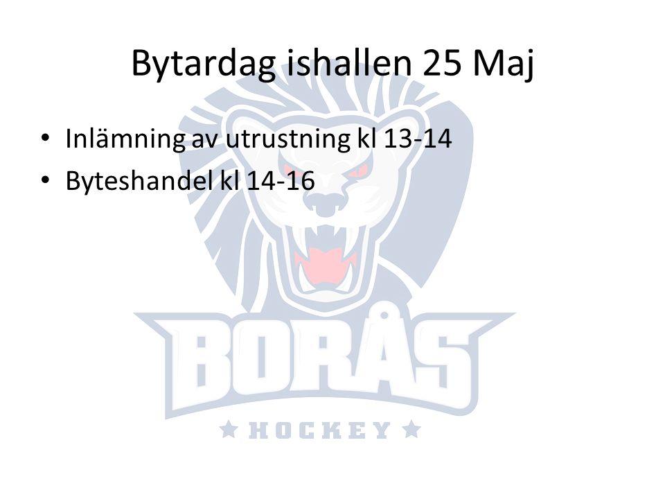 Sommarhockeyskola Anordnas v33 (10-15Aug) ca kl 7-16 Gemensam grupp med barn födda 05 och 06 4st tränare + juniorer 2 ispass/dag.