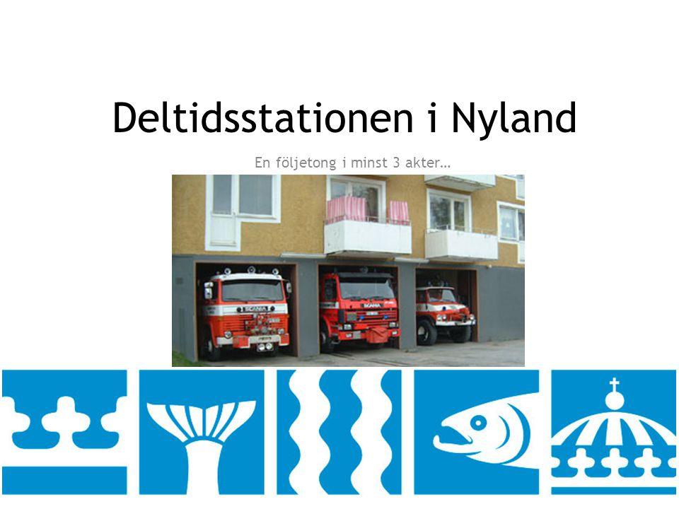 Deltidsstationen i Nyland En följetong i minst 3 akter…