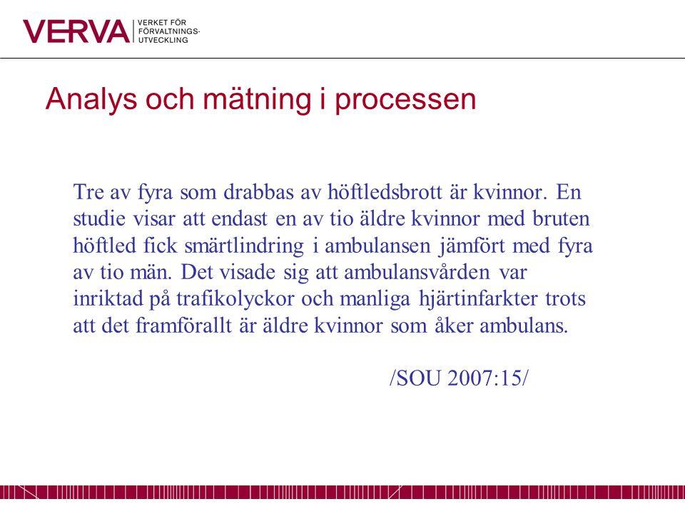 Analys och mätning i processen En studie av F-kassans rehabilitering visar att läkare vid F-kassan fattar skilda beslut för liknande problem/symptom beroende på om det gäller en kvinna eller man.