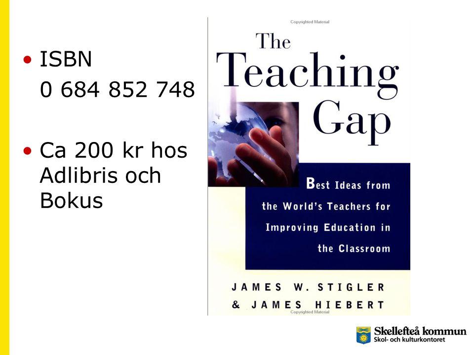 ISBN 0 684 852 748 Ca 200 kr hos Adlibris och Bokus